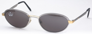 Revue Retro Beat Shiny Pewter with Grey Lenses