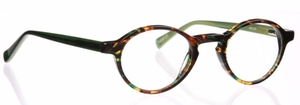 Eyebobs Board Stiff Green Tortoise Front / Green Temples