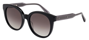 Bottega Veneta BV0002S Black with Gradient Smoke Lenses