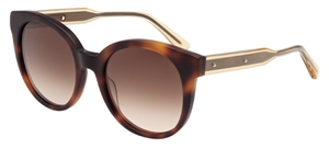 Bottega Veneta BV0002S Havana with Brown Gradient Lenses