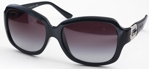 Bulgari BV8110B Black with Grey Gradient Lenses