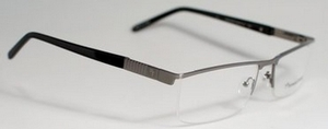 Fatheadz Capital XL Gunmetal / Black Half Temples