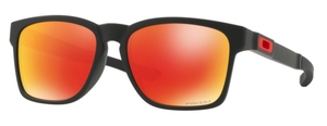 Oakley Catalyst OO9272 25 Matte Black with Prizm Ruby Lenses