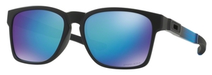 Oakley Catalyst OO9272 Matte Black with Prizm Sapphire Polarized Lenses