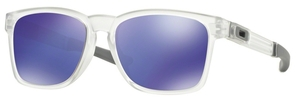 Oakley Catalyst OO9272 05 Polished Clear with Violet Iridium Lenses