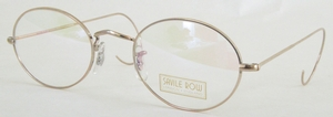 Savile Row Center Joint Panto 18kt, Cable Temples Eyeglasses