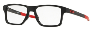 Oakley Chamfer Squared OX8143 Satin Black/Red