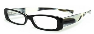 Eyebobs Co-Conspirator Black Front / Horn Temples