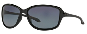 Oakley Cohort OO9301 04 Polished Black with Polarized Grey Gradient