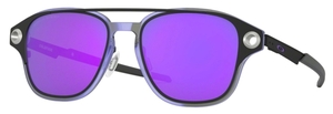Oakley Coldfuse OX6042 Matte Black / violet iridium polar