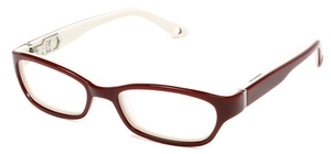 Alexander Daas Compassion Maroon/White