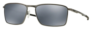 Oakley Conductor 6 OO4106 02 Lead with Polarized Black Iridium Lenses