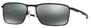 Oakley Conductor 6 OO4106 01 Matte Black with Black Iridium Lenses