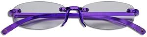 Casa Crystals & Jewelry CRG 7 Purple Reading Glasses