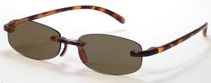 Casa Crystals & Jewelry CRG 10 Tortoise Sun Reader Prescription Glasses