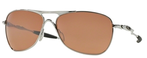Oakley CROSSHAIR OO4060 02 Chrome with VR28 Black Iridium Lenses