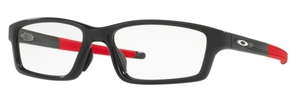 Oakley Crosslink Pitch (A) OX8041 Asian Fit 17 Polished Black Ink/Red