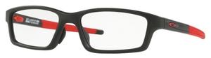 Oakley Crosslink Pitch (A) OX8041 Satin Black/Red