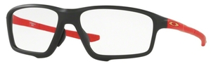 Oakley Crosslink Zero (Asian Fit) OX8080 Matte Black/Red