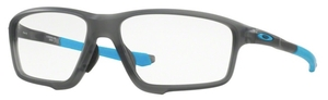 Oakley Crosslink Zero (Asian Fit) OX8080 Satin Grey Smoke