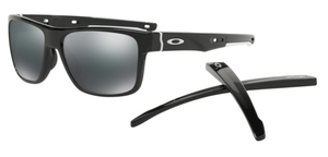 Oakley CROSSRANGE OO9361 02 Polished Black with Black Iridium Lenses