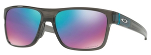 Oakley CROSSRANGE OO9361 08 Grey Smoke with Prizm Sapphire Snow Lenses