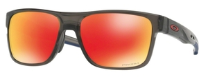 Oakley CROSSRANGE OO9361 12 Grey Smoke with Prizm Ruby Lenses