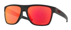 Oakley CROSSRANGE XL OO9360 12 Matte Black / Prizm Ruby