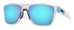 Oakley CROSSRANGE XL OO9360 21 Matte Clear / Prizm Sapphire