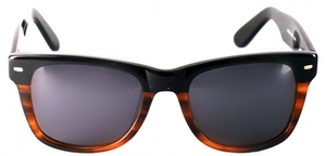Anglo American Cruise Sunglass Black Fade to Tortoise