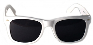 Anglo American Cruise Sunglass White