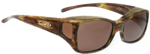 FITOVERS® Dahlia style Tiger Eye w/ Amber Lens