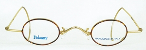 Dolomiti Eyewear DM7 Cable Shiny Gold/Tortoise