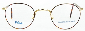 Dolomiti Eyewear DM8 Polo Shiny Gold/Tortoise with Dark Tortoise Polo Temples