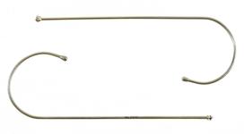 Dolomiti Eyewear Dolomiti, Temples Only Shiny Gold/Tortoise, Cable