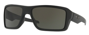 Oakley Double Edge OO9380 01 Matte Black with Dark Grey Lenses