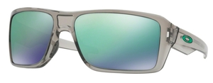 Oakley Double Edge OO9380 03 Grey Ink with Jade Iridium Lenses