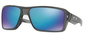 Oakley Double Edge OO9380 06 Grey Smoke with Prizm Sapphire Polarized Lenses