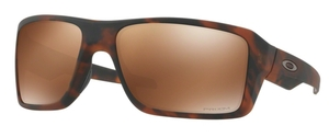 Oakley Double Edge OO9380 07 Matte Tortoise with Prizm Tungsten Polarized Lenses