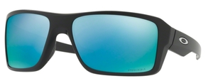 Oakley Double Edge OO9380 13 Matte Black Prizm Deep H2O Polarized Lenses
