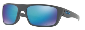 Oakley DROP POINT OO9367 06 Matte Dark Grey / Prizm Sapphire Polar
