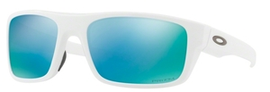 Oakley DROP POINT OO9367 14 Polished White with Prizm Deep H2O Polarized Lenses
