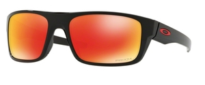 Oakley DROP POINT OO9367 16 Polished Black with Prizm Ruby