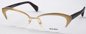 Miu Miu MU 50LV Gold Black