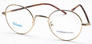 Dolomiti Eyewear PC2/P Shiny Gold with Dark Tortoise Polo Temples