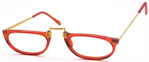 Revue Retro Epoque 3 Gold/Red