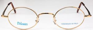 Dolomiti Eyewear OC2/S Shiny Gold with Matching Sunglass Clip On