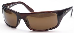 Maui Jim Peahi 202 Tortoise with Brown Polarized Lenses