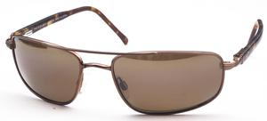 Maui Jim Kahuna 162 Metallic Gloss Copper with Brown Polarized Lenses