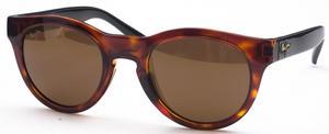 Maui Jim Liana 287 Tortoise/Black Gloss with Brown Polarized Lenses